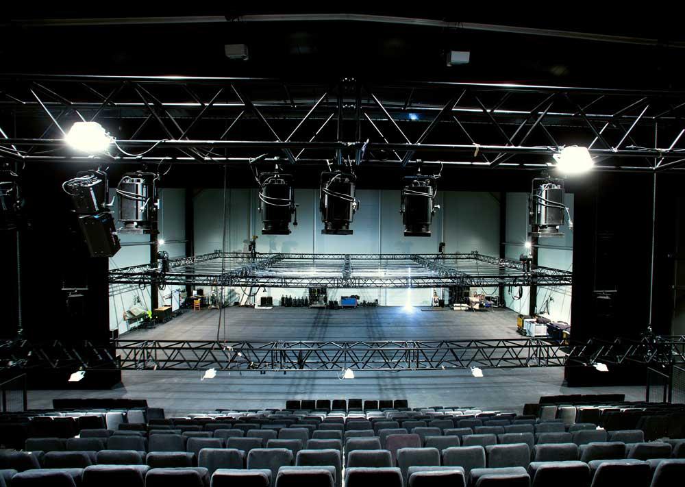 gril de la salle de spectacle de théâtre